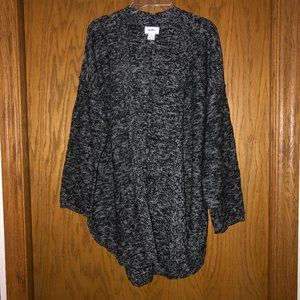 Old Navy Open Front Cardigan, 3/4 Sleeve, Size XL